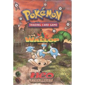 WOTC Pokemon Neo Discovery Wallop Precon Theme Deck