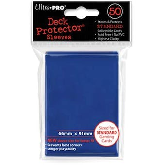 Ultra Pro Blue Deck Protectors 50 Count Pack