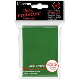 Ultra Pro Green Deck Protectors 50 Count Pack