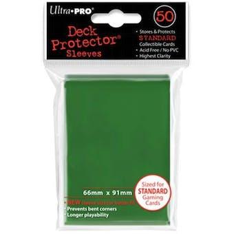Ultra Pro Green Deck Protectors 50 Count Pack