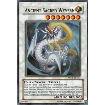 Yu-Gi-Oh Ancient Prophecy Single Ancient Sacred Wyvern Ultra Rare