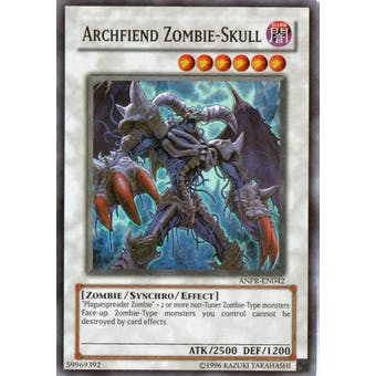 Yu-Gi-Oh Ancient Prophecy Single Archfiend Zombie Skull Super Rare
