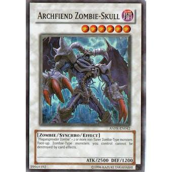Yu-Gi-Oh Ancient Prophecy Single Archfiend Zombie Skull Super Rare
