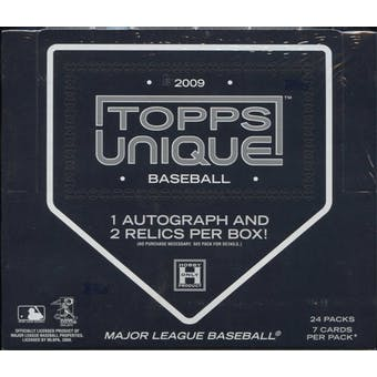 2009 Topps Unique Baseball Hobby Box