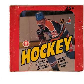1982/83 O-Pee-Chee Hockey Wax Box
