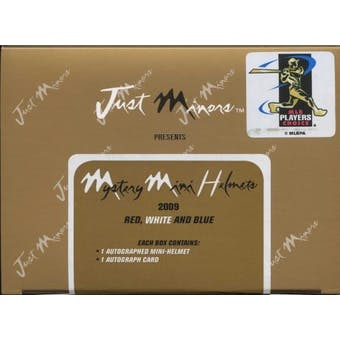 2009 Just Minors Team USA Mini Helmet Baseball Hobby Box
