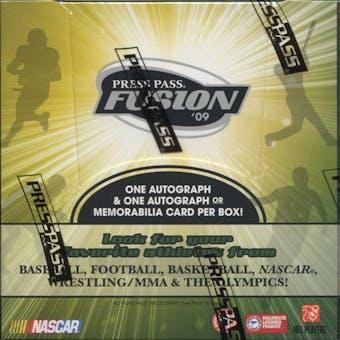 2009 Press Pass Fusion Multi-Sport Hobby Box