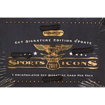 2009 Razor Sports Icons Update Hobby Box