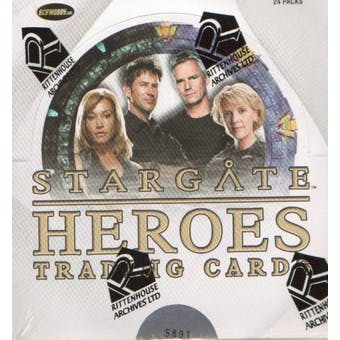 Stargate Heroes Trading Cards Box (Rittenhouse 2009)