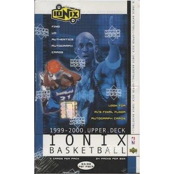 1999/00 Upper Deck Ionix Basketball Retail 24 Pack Box