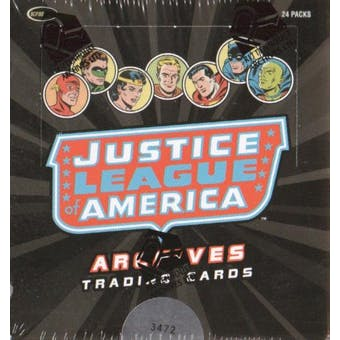 Justice League of America Archives Trading Cards Box (Rittenhouse 2009)