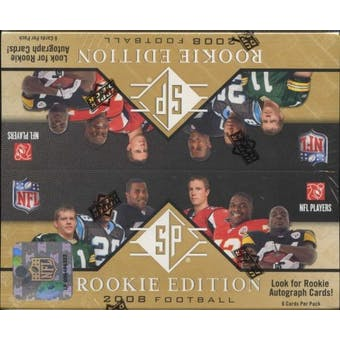 2008 Upper Deck SP Rookie Edition Football 24-Pack Box