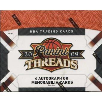 2009/10 Panini Threads Basketball Hobby Box