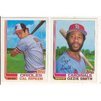 1982 Topps Traded & Rookies Baseball Complete Set