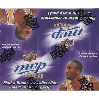 2008/09 Upper Deck MVP Basketball 24-Pack Box