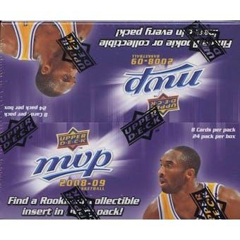 2008/09 Upper Deck MVP Basketball 24-Pack Box