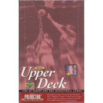 1995/96 Upper Deck Series 1 Basketball Retail Box