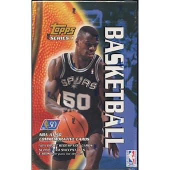 1996/97 Topps Series 1 Basketball Retail 36 Pack Box