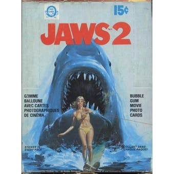 Jaws 2 Wax Box (1978 O-Pee-Chee)