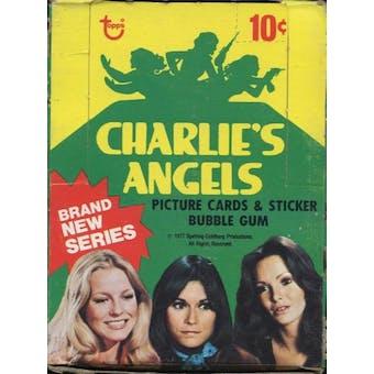 Charlie's Angels Series 4 Wax Box (1977-78 Topps)