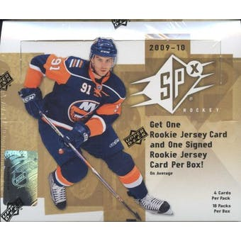 2009/10 Upper Deck SPx Hockey Hobby Box