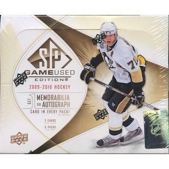 2009/10 Upper Deck SP Game Used Hockey Hobby Box