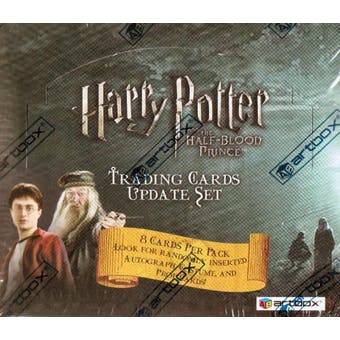 Harry Potter Half-Blood Prince Update Hobby Box (2009 Artbox)