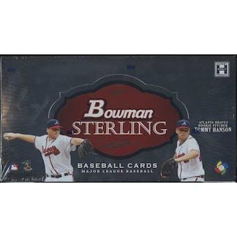 2009 Bowman Sterling Baseball Hobby Box