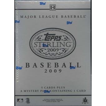 2009 Topps Sterling Baseball Hobby Box