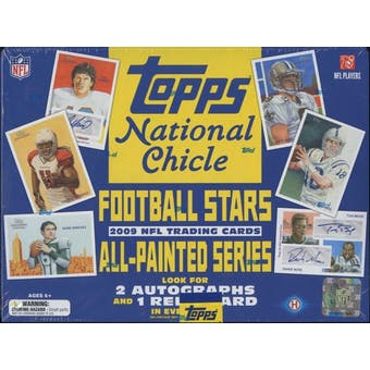 2009 Topps National Chicle Football Hobby Box