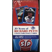 1991 Traks Richard Petty Racing Hobby Box (Reed Buy)