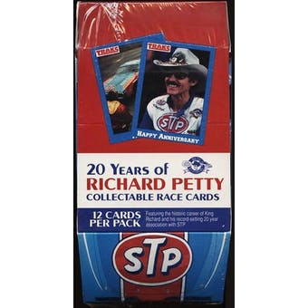1991 Traks Richard Petty Racing Hobby Box