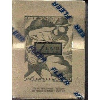 1994 Flair Series 2 Baseball Hobby Box