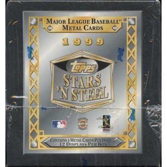 1999 Topps Stars 'N Steel Baseball Hobby Box