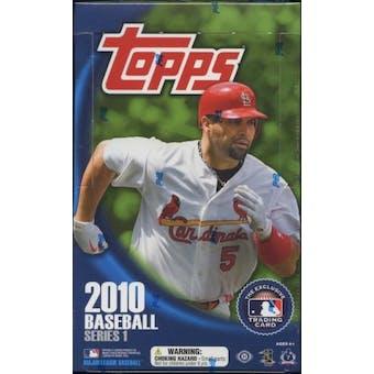 2010 Topps Series 1 Baseball Hobby Box