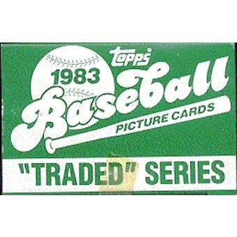 1983 Topps Traded & Rookies Baseball Factory Set