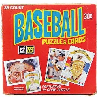 1983 Donruss Baseball Wax Box