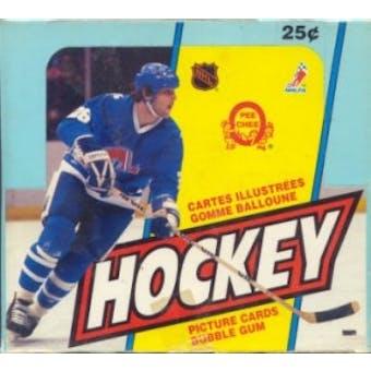 1983/84 O-Pee-Chee Hockey Wax Box