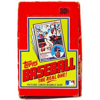 1983 Topps Baseball Wax Box - Rare Michigan Test !