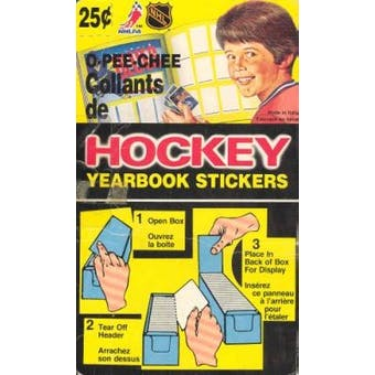 1984/85 O-Pee-Chee Hockey Sticker Box