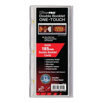 Ultra Pro 185pt. One Touch Double Booklet Magnetic Card Holder