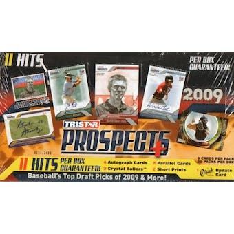 2009 TriStar Prospects Plus Baseball Hobby Box