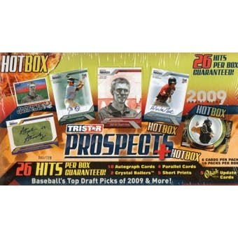 2009 TriStar Prospects Plus Hot Box Baseball Hobby Box