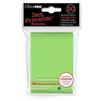 Ultra Pro Lime Green Deck Protectors (50 Count Pack)