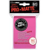 Ultra Pro Yu-Gi-Oh! Size Pro-Matte Pink Deck Protectors (60 count pack)