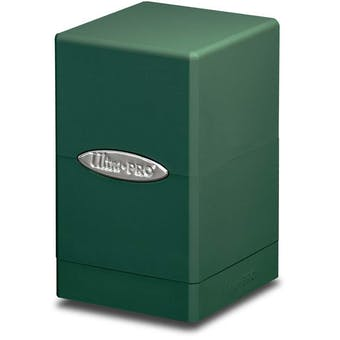 Ultra Pro Green Satin Tower Deck Box