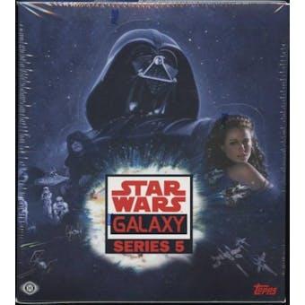 Star Wars Galaxy Series 5 Hobby Box (Topps 2010)