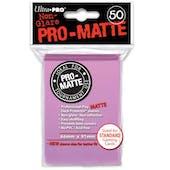 Ultra Pro Pro-Matte Pink Deck Protectors (50 count pack)