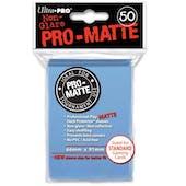 Ultra Pro Pro-Matte Lite Blue Deck Protectors (50 count pack)