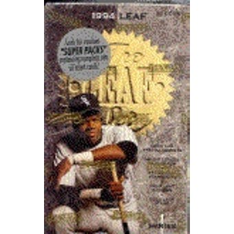 1994 Leaf Series 1 Baseball Hobby Box